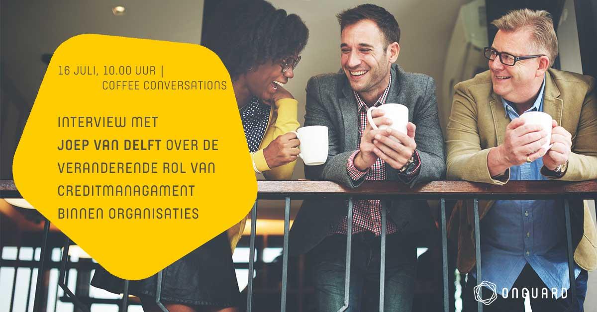 Coffee Conversation met Joep van Delft