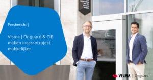 Persbericht CIB en Visma Onguard