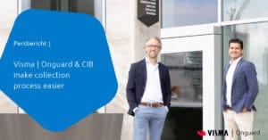 Press release CIB en Visma Onguard